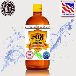 Hand Sanitizer 80% Ethyl Alcohol meets WHO/CDC - Citrus Arom