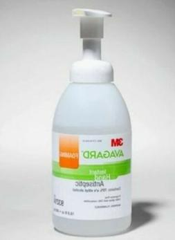 Hand Sanitizer 3M Avagard 16.9 oz. Alcohol  Foaming Pump Bot