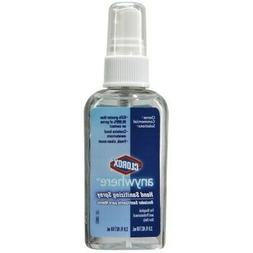 *NEW* Clorox Hand Sanitizer, 2 oz. Alcohol  Gel Pump Bottle