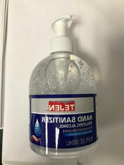 Hand Sanitizer Gel 16.9 oz 500 ml Pump Bottle 75% Ethanol Ex