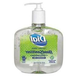 DIAL 00213 Hand Sanitizer,Gel,16 oz.,PK8