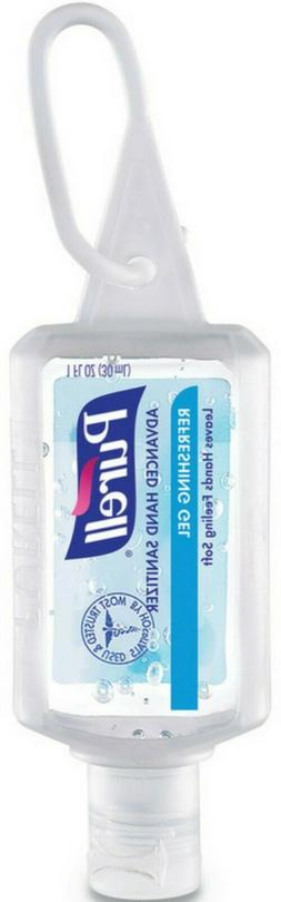 Hand Sanitizer Gel 1oz Bottle with JELLY WRAP Carrier, PK36