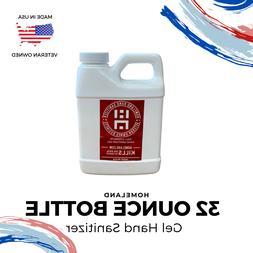 Hand Sanitizer Gel | 32 Ounce Refill Bottle | 75% Alcohol