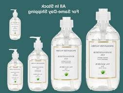 Hand Sanitizer Gel   70% Alcohol with Aloe Vera   2oz to 32
