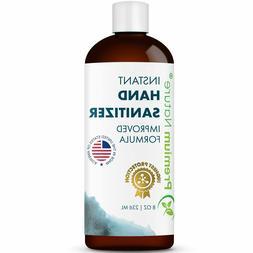 Hand Sanitizer Gel Natural Instant Advanced Kills 99% Germs