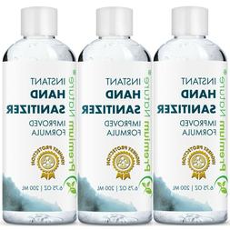 Hand Sanitizer Gel Natural Instant Advanced Kills 99% Germs