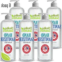 Hand Sanitizer / Hand Cleaner Antimicrobial 80% Alcohol Kill