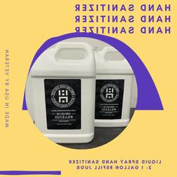 Hand Sanitizer Liquid 1 Gallon Refill Kills 99.99% Of Germs