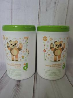 Babyganics Hand Sanitizer Wipes 100ct 2pk