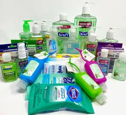 Purell Hand Sanitizer Wipes Clorox Up and Up Travel Mini Siz