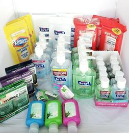 Purell Hand Sanitizer Wipes Clorox Up and Up Full Travel Min