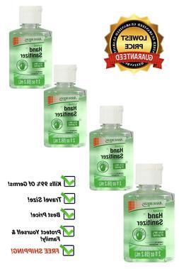 Hand Sanitizer with Moisturizers, Vitamin E & Aloe Travel Si