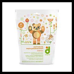 Babyganics Hand Sanitizing Individual Packet Wipes Pack Of 2
