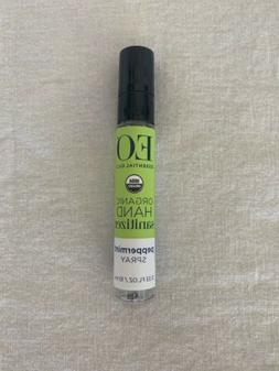 EO Products Hand Sanitizing Spray - Peppermint- .33 oz