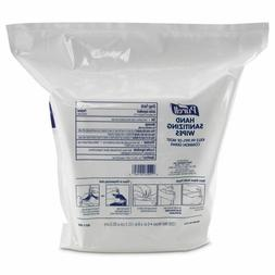 PURELL Hand Sanitizing Wipes, 6 x 8, White, 1200/Refill Pouc