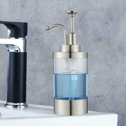 Hand Soap Sanitizer Countertop Dispenser Bottle Household WY