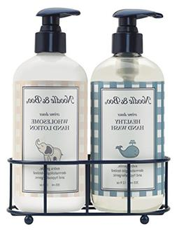 Noodle & Boo Healthy Hand Wash & Hand Lotion Caddy Gift Set