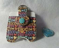 I love my Dog Hand Sanitizer Holder Free is Shipping