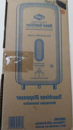 industrial hand sanitizer touchless dispenser mountable blea