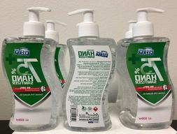 Cleace Instant Hand Sanitizer 6 x 17 oz Pump Bottle EXP 03/2