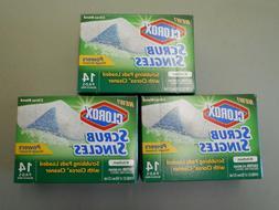 "Clorox Kitchen Scrub Singles, 14 Pads / Box, ""Citrus Blend"""