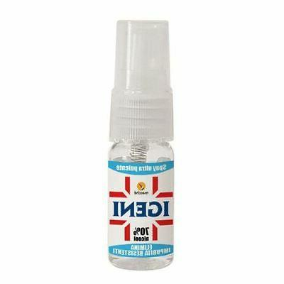 20 little bottles 0 3oz sanitizer detergent