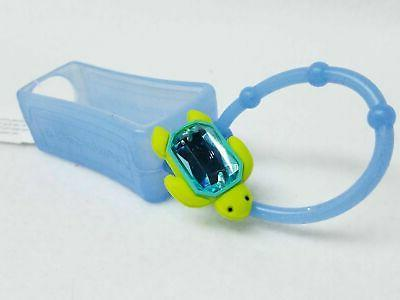 1 Bath Body Works BLUE GEM TURTLE Pocketbac Holder Hand Gel Case