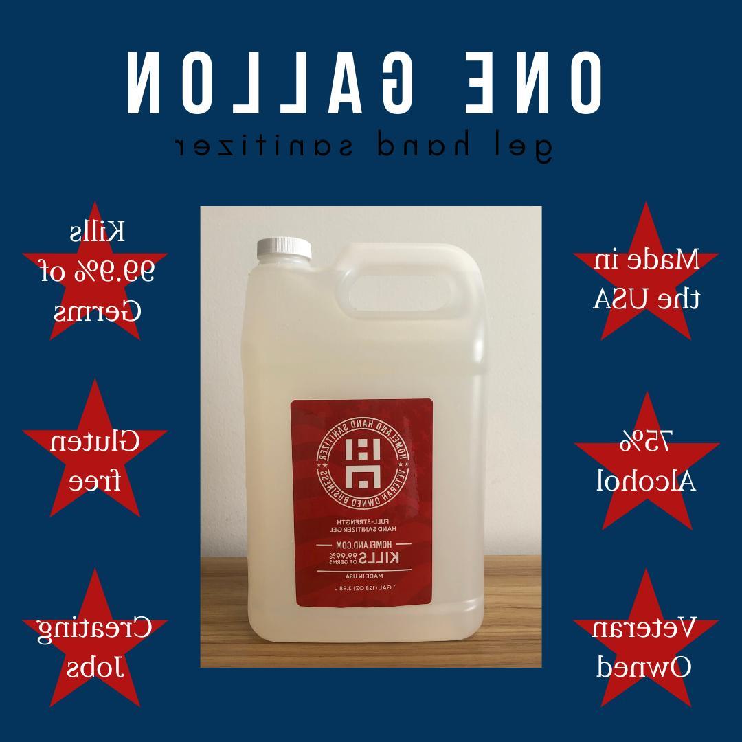1 gallon gel hand sanitizer fast shipping