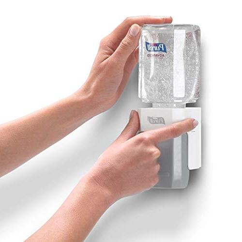 PURELL Advanced ES Kit, 1 – mL Sanitizer 1 – PURELL ES Compact Starter Push-Style Dispenser -