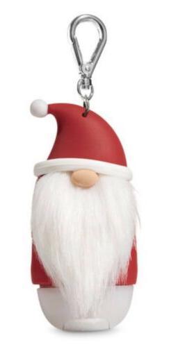 1X Bath & Body Works Santa Gnome PocketBac Holder Sanitizer
