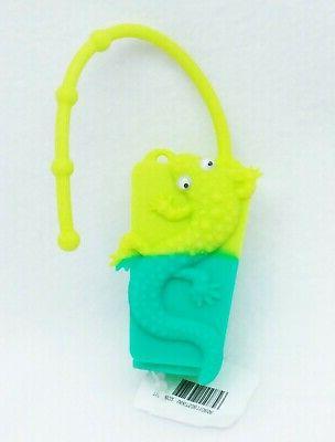 1 Bath & Body Works GREEN LIZARD GECKO Pocketbac Holder Hand
