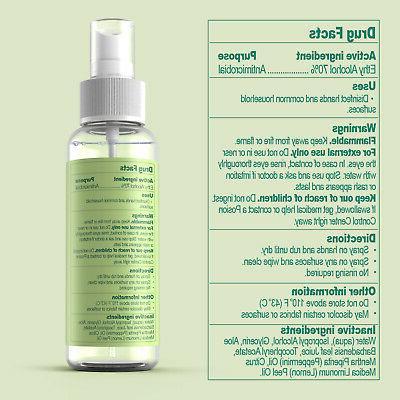 12 Spray 3 Oz 70% Germs+Aloe