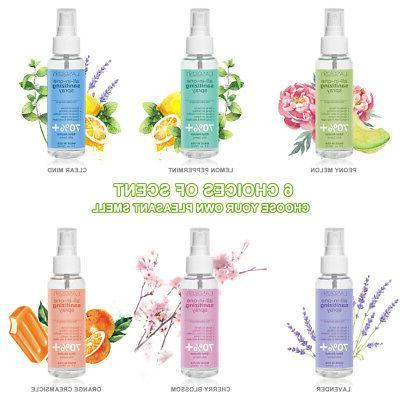 3 Spray 90ml Oz 70% Kills Germs+Aloe+Vitamin