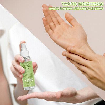 6 Pack Spray 90ml 70% Kills Germs+Aloe+Vitamin E
