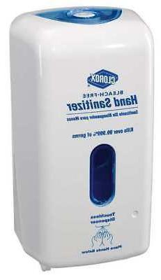 Hand Sanitizer Dispenser,1L,White CLOROX 30242-EA