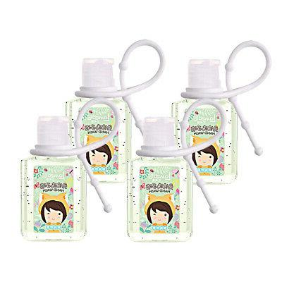 4 Pack 75% Hand Gel Portable 30ml