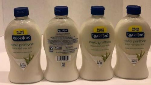 4 soothing aloe vera moisturizing liquid hand