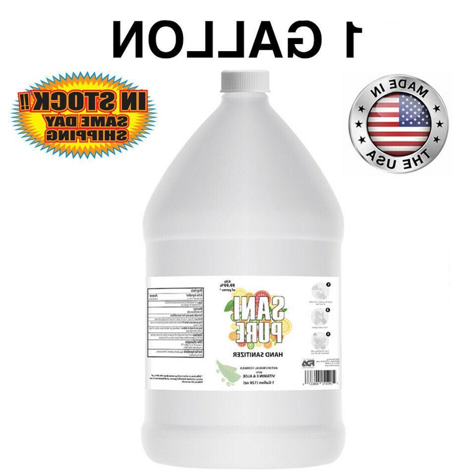 Advanced Hand Sanitizer GEL Natural W/ Aloe & Vitamin E 1 Ga