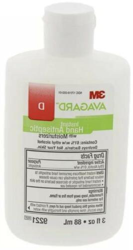 3M Instant with Moisturizers, 48-Pack,