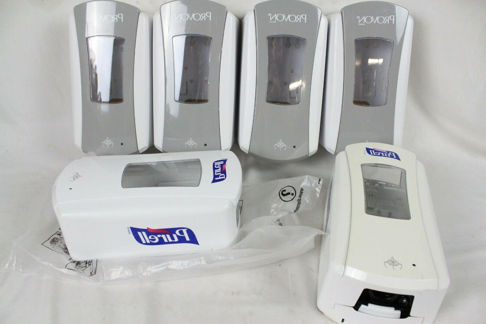 6 and purell soap hand sanitizer dispenser