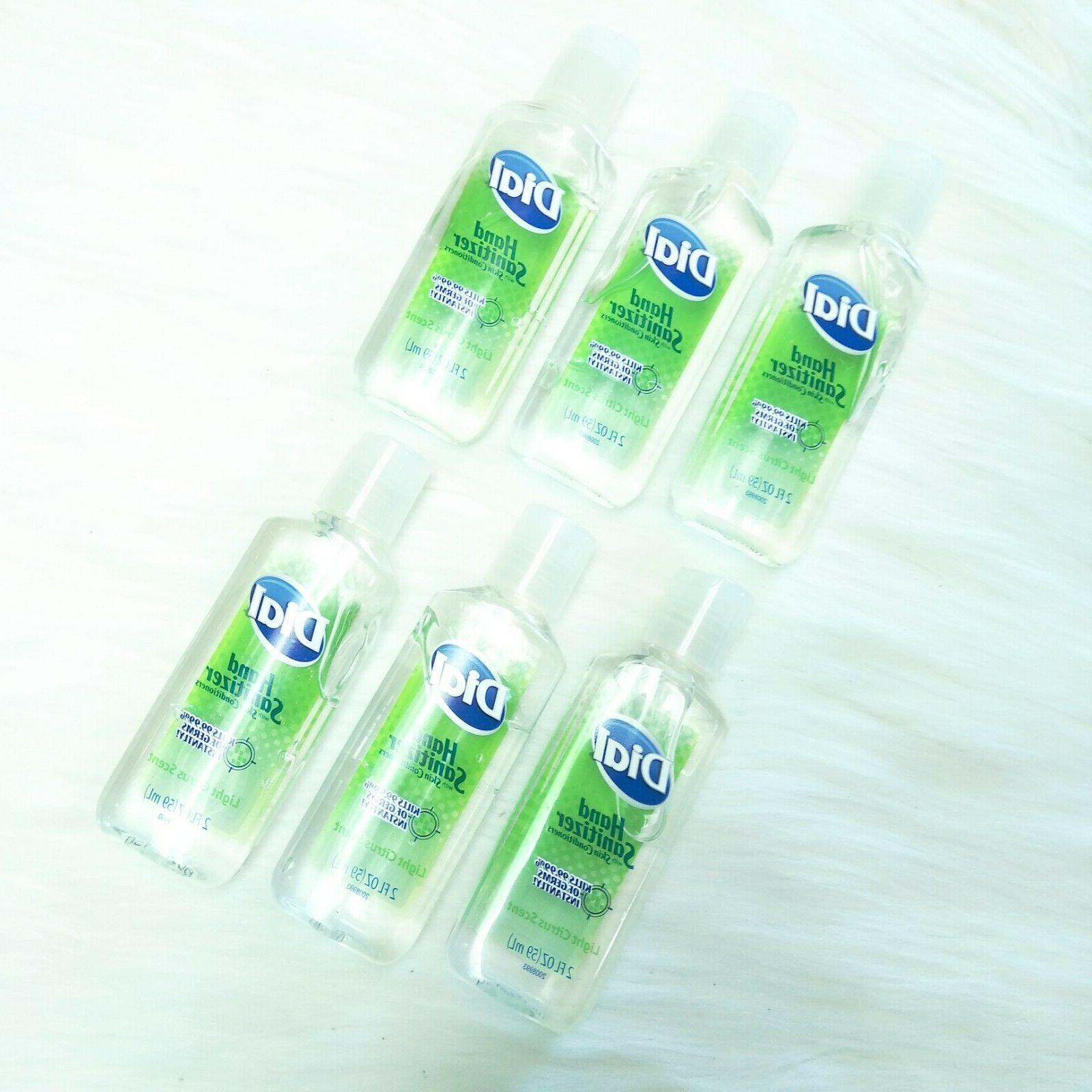 6 antibacterial hand sanitizer w skin conditioner