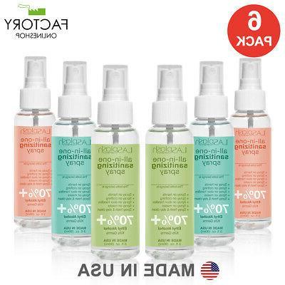 6 pack hand sanitizer spray 90ml 3