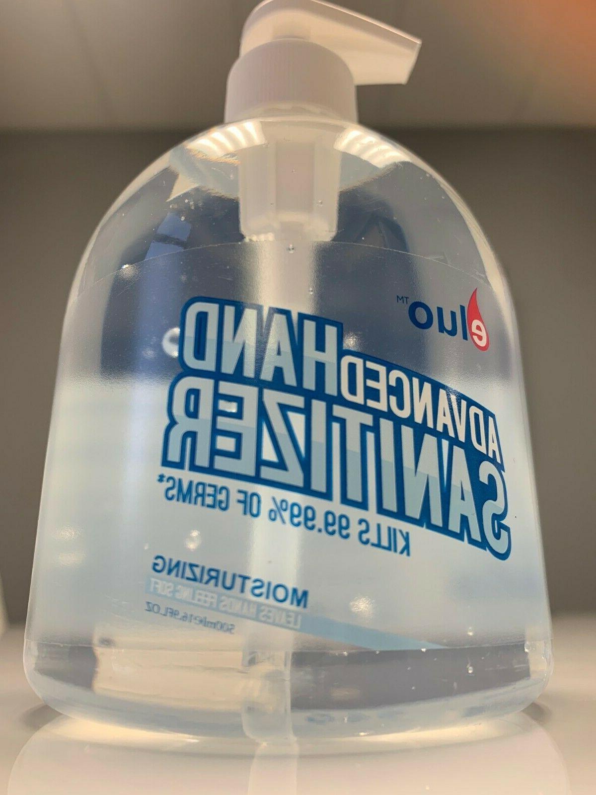 8 Bottles oz Hand Sanitizer
