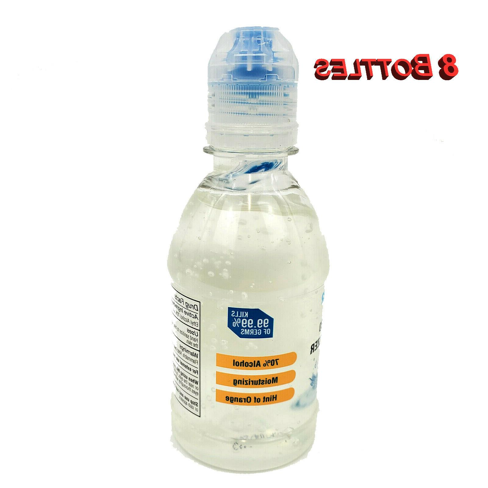 8 pack advanced hand sanitizer antimicrobial 70