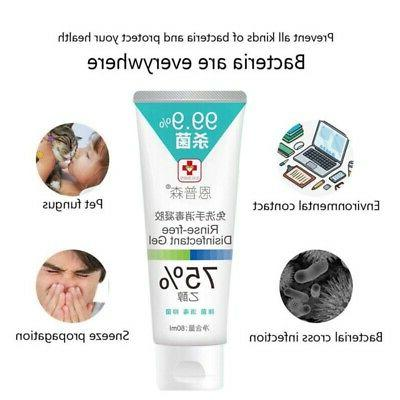 80ml Alcohol Hand Gel To No Need Water &