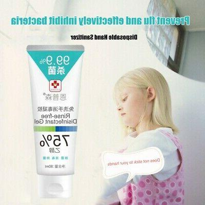 80ml Bacterial Hand No Need Sanitizer For Water &