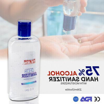 8oz medium size 75 percent alcohol antibacterial