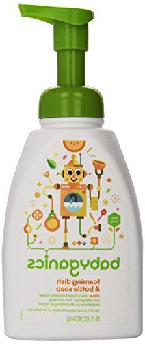 BabyGanics - Foaming Dish & Bottle Soap The Dish Dazzler Cit
