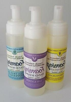 Lavender Foaming Hand Sanitizer Natural Anti-Bacterial Essential Oils