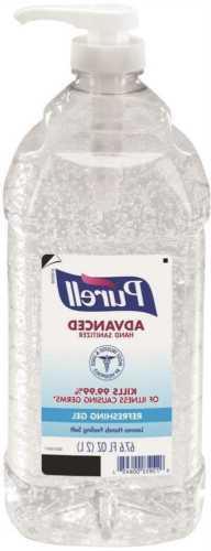 Purell Advanced 2 Liter Pump Bottle Original Scent Gel Hand